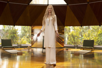 Nicole Kidman plays the enigmatic owner of a wellness retreat, where a group of troubled individuals gather, in <i>Nine Perfect Strangers</i>.