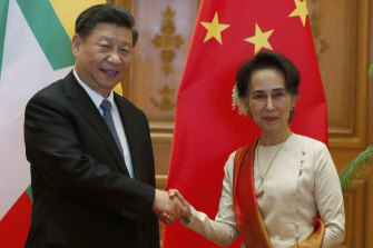 Xi Jinping's visit to Myanmar in January last year was the first by a Chinese leader in 19 years.