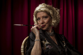 Uschi Felix plays Marlene Dietrich as she prepares for the last time to appear on stage.