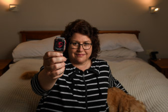 Kate Bendall credits her husband's Apple Watch with discovering she was having an AFib.