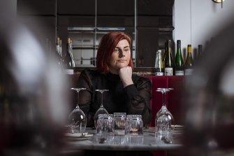 Ashleigh Dyer, co-owner of Hemingway's Wine Bar in East Melbourne.