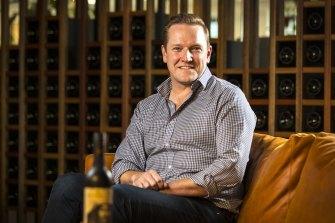Treasury Wine Estates' chief marketing officer Angus Lilley.