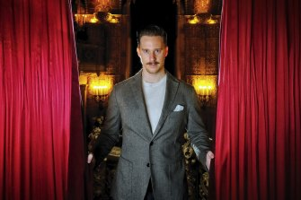 Moulin Rouge! the Musical actor Andy Cook at the Regent Theatre.
