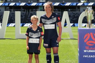 Jenna McCormick has switched AFLW for Melbourne Victory in the W-League, with her eyes on a Matildas spot at the 2020 Olympics.