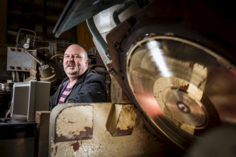 Hard-pressed: Paul Rigby says the vinyl business is a labour of love, but there's money to be made.