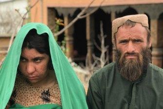 Ali Jan's wife, Bibi Dhorko, and brother, Abdul.