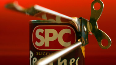 Canned peaches are an SPC staple.