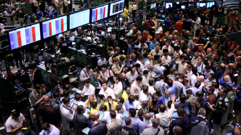 Wall Street traders on September 15, 2008, when the Lehman Brothers slid into bankruptcy as the global financial crisis spread.