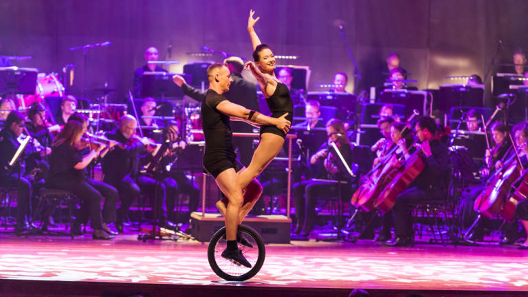 Tutti, performed by Circus Oz and the MSO.