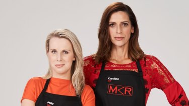 "MKR's Milly and Karolina were marketed as the ""perfect strangers""."