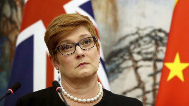 Minister for Foreign Affairs Marise Payne.
