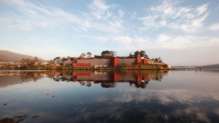 MONA: Hobart's Museum of Old and New Art.