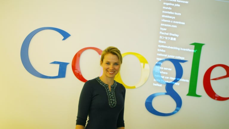 Former Australian Google executive Marissa Mayer