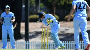 Title on the line: Healy and the Breakers are chasing their 20th WNCL title on Saturday.