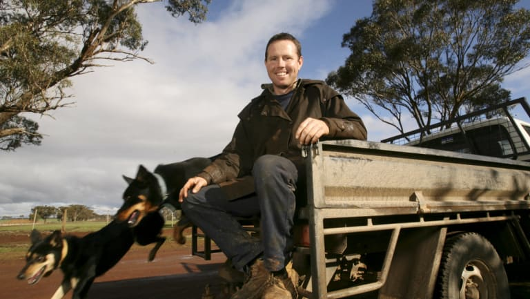 Resigned from the frontbench: Nationals MP Andrew Broad.