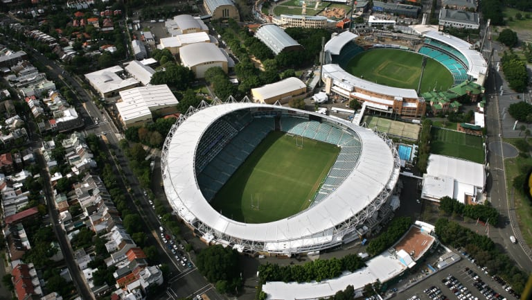 Going, going, gone? The government is forging ahead with its  stadium plans.