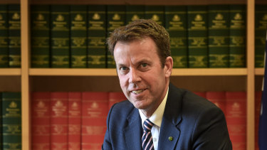 Federal Education Minister Dan Tehan is monitoring universities' responses to the French review on free speech.