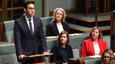 New Labor MP for Macnamara Josh Burns making his maiden speech in Parliament this week.