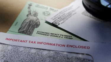 Stimulus cheques were issued by the IRS to help combat the coronavirus outbreak.
