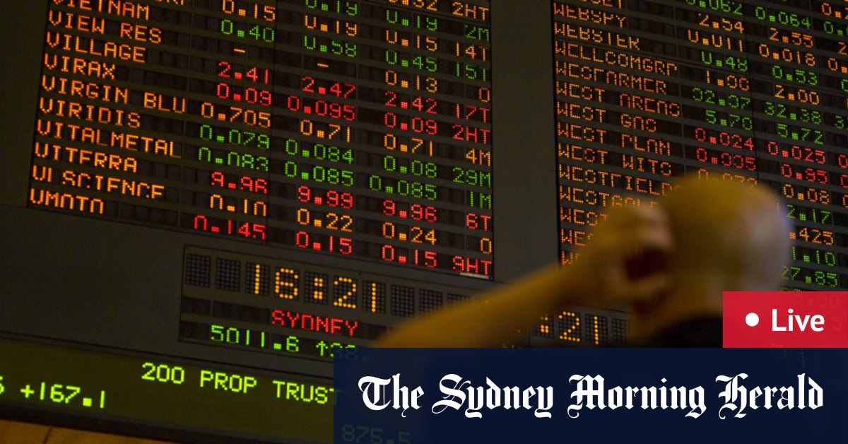 As it happened: September slide continues as ASX hits three-month low – The Sydney Morning Herald