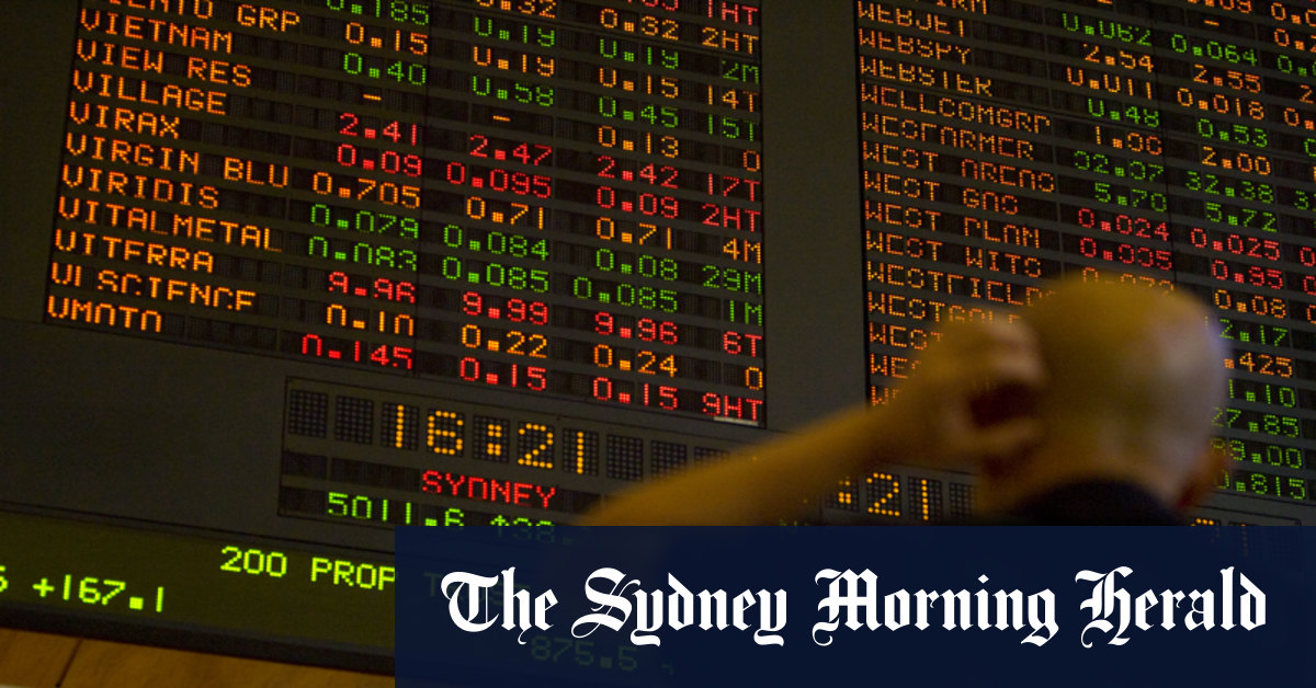 Markets Live Tuesday 11 August 2020 – The Sydney Morning Herald
