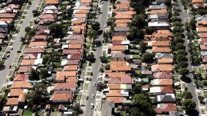 Housing in Sydney.