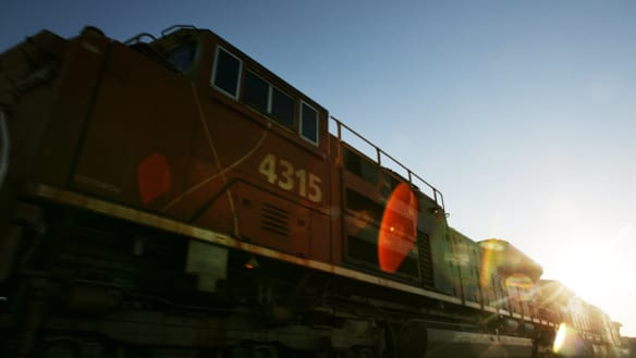 BHP reveals $838m hit from runaway train, other 'unplanned' outages