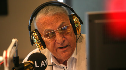 Broadcaster John Laws in hospital with infection