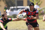 Joseph Suaalii was one of several young guns gaining valuable experience in the NSW Cup.