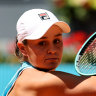 Barty into final of Madrid Open, Nadal beats Popyrin to reach quarters