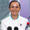 'I would love to be the champion here': Barty aiming high at Wimbledon