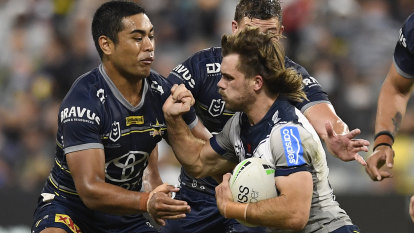 Storm survive Cowboys surge to equal club record for consecutive wins