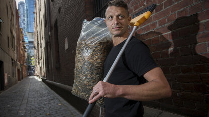 Holy smokes, Buttman! The man on a mission to rid the city of cigarette butts
