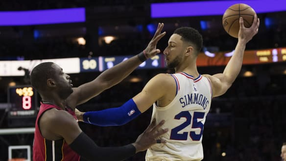 Simmons working hard to avoid second-year blues