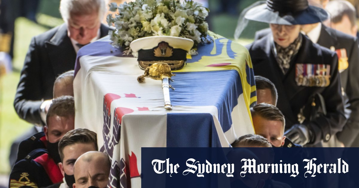 'Humbling': The only Australian invited to watch Prince Philip's funeral – Sydney Morning Herald