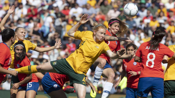 'Cup of Nations' a World Cup audition for Matildas – and hosting hopes