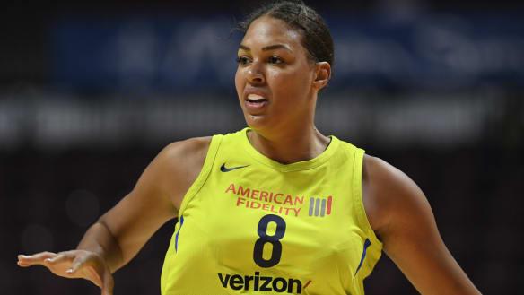 Liz Cambage earns WNBA first-team honours after stellar season