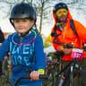 Families light up Gungahlin for glow-in-the-dark bike ride
