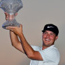 Mitchell snatches maiden PGA win as Singh's historic bid falls short