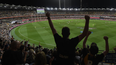 The night grand final rated strongly.
