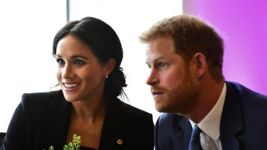 Prince Harry and Meghan, the Duke and Duchess of Sussex.