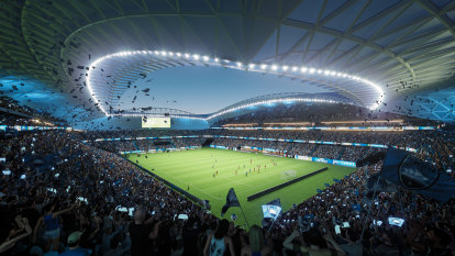 Sydney FC won't commit future to SFS without a curtain