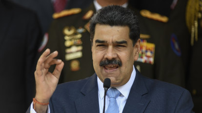 Venezuela's Maduro says American spy captured near oil refinery