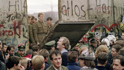 Thirty years ago the Berlin Wall came down. Today, across Europe, walls are going up