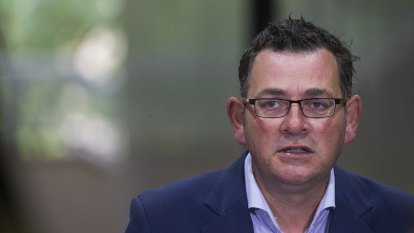 Sidelined Dan Andrews unable to take a swing