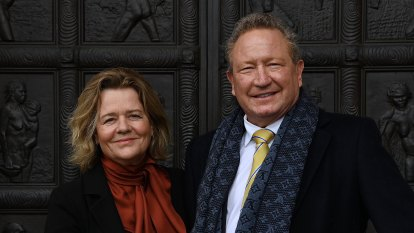 Billionaires Andrew and Nicola Forrest start screen production company