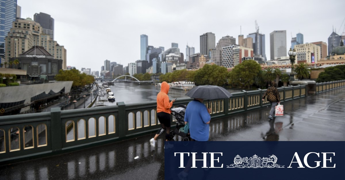 Victoria drizzle sets in as NSW battered with rainfall flooding – The Age