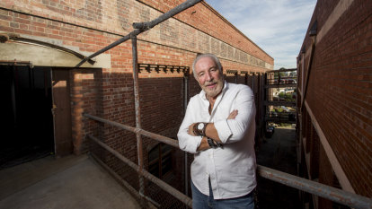 No zombies: meet the sole resident of a vast warehouse, 3km from CBD
