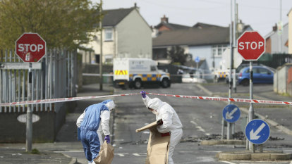 Peace was already uneasy in Derry, then a hooded man raised his gun