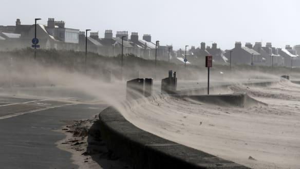Deadly storm Ali causes havoc in Ireland